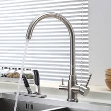 Advanced Stainless Steel Dual Rotatable Kitchen Faucet For