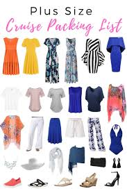 7 Day Cruise Packing List Plus Size Cruise Wear 20 Cruise Outfits Plus Size Women
