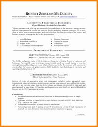 Electrical Technician Resume Sample Electrical Technician Resume Sample Electrical Mechanical 51