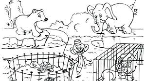 Zoo Coloring Pages Zoo Coloring Pages To Print Zoo Coloring Pages To