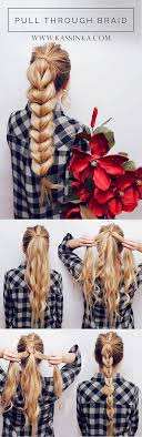 Easy Long Hairstyles 5 Inspiration 24 Best BraidedBun Hair Images On Pinterest Hairstyle Ideas