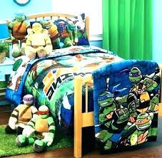 Ninja Turtle Comforter Twin Bed Set Sets Turtles Sheets Teenage ...
