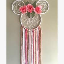 Minnie Mouse Dream Catcher Delectable Camila Inspired Minnie Mouse Dreamcatcher Products Pinterest