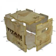 3 in 1 wooden plyometric box 12 14