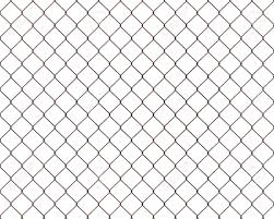 Rusty Chainlink Fence Isolated On White Background Stock Photo