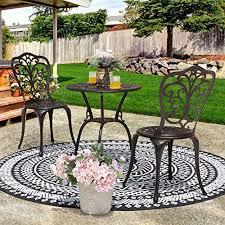 nuu garden outdoor 3 piece small patio