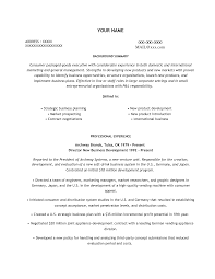 Resume Examples, Background Summary Skilled For Professional Experience  Resume Templates Food Service Associations Director Year