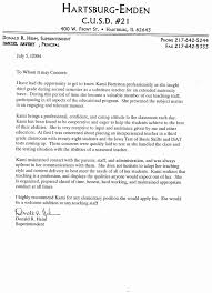 50 Recommendation Letter For Teacher From Principal Hm8a