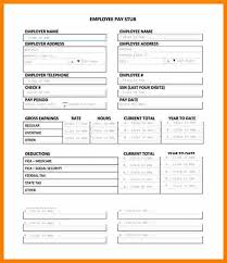 create paycheck stub template free free pay stub templates online images template design ideas