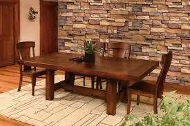 All Wood Dining Room Table Cool Design Ideas