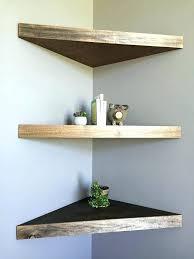 corner shelf best floating shelves ideas on door bookshelf with doors glass