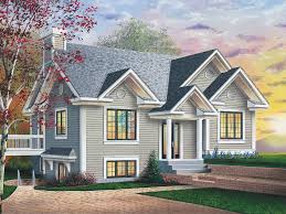 multi level home is great for a sloping lot