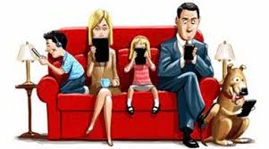 Resultado de imagen para menos celular mas familia