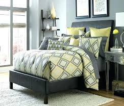 yellow and grey bedding yellow grey and white bedding grey and yellow bedding society row bedding