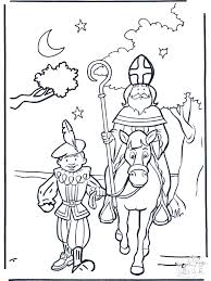 Kleurplaten Sint En Piet Kleurplaten Sint