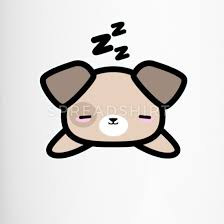 About a week or so ago i tried to order the filet mignon from amazon and the site said they were. Cadeau De Dessin De Style Mignon Kawaii Design Sleeping Dog Mug Isotherme Spreadshirt