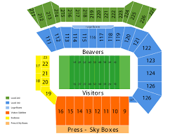 University Of Oregon Football Stadium Seating Chart Reser Stadium Seating Chart And Tickets