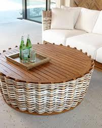san martin round coffee table