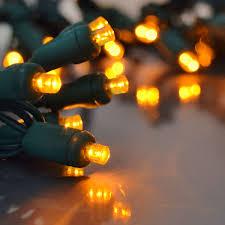 Orange Led String Lights 838317