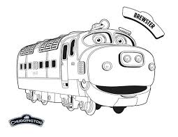 Small Picture Awesome Brewster from Chuggington Coloring Page Download Print