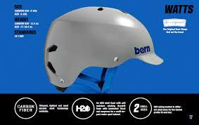 Bern Watts H2o Water Sports Helmet Men Grey Green 2018