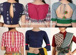 Saree Blouse Sleeve Designs 2018 Cotton Saree Blouse Designs For Stylish And Trendy Look