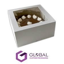 Custom Window Cake Boxes Wholesale Packaging Gcp