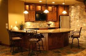 Rustic Basement Ideas Large Size Of 2 With Lovely Bar Simple