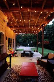 backyard string lights fresh patio cushions of string lights patio