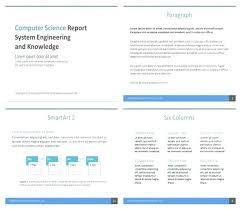 Scientific Report Template Meltfm Co