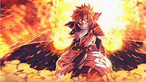ilration anime fairy tail dragneel natsu mythology screenshot puter wallpaper