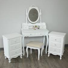 range bedroom furniture. white bedroom furniture dressing table set 2 bedside tables bundle lila range
