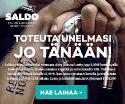 Saldo Com Saldo Laina 500 10000 Heti Tilille Kulutusluottohaku Fi