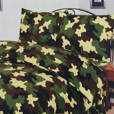 camouflage duvet cover double