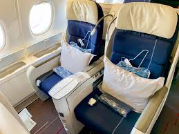Review Air France A380 Business Class Paris To New York