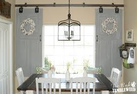 inspiring barn door barn door window curtains as bay window curtain rods