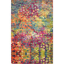 unique loom barcelona multi 10 ft 6 in x 16 ft 5 in rug 3119582 the home depot