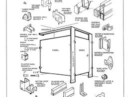 Restroom Partitions Harborcitysupply Toilet Partition Installation - Bathroom toilet partitions
