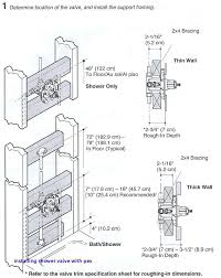 replace shower mixer valve space issue between mixing valve and tub spout installing shower valve with
