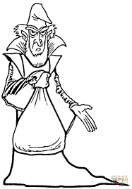 Wizard coloring page | Free Printable Coloring Pages