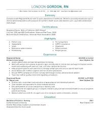 Nurse Resume Objective Examples Examples Of Nursing Resume Examples ...