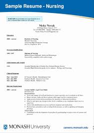 Sample Resume For New Graduate Nurse Nursing Resume Format Beautiful New Grad Nursing Sample Resume 14