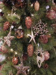 Decor, Rose Gold Christmas Trees, Rose Gold Christmas Ornaments, Gold, rose  gold bronze gold this is very romantic in my opinion it s gi.