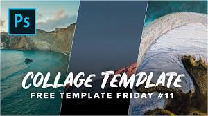 Photo Collage Maker Templates Free Download Google Photoshop