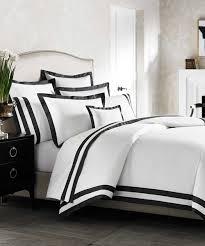 Suzanne Carter Swedish Cross Black White Duvet Cover Intended For ... & Black And White Duvet Sets For Elegant Home Black And White Duvet Covers  Designs ... Adamdwight.com