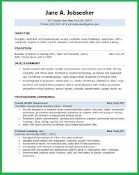 Nurse Resume Objective | Example Template