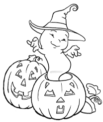 Download Coloring Pages. Ghost Halloween Coloring Pages: Ghost ...