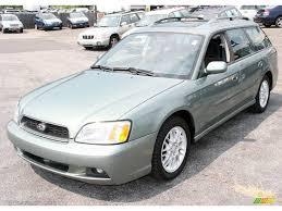 2004 Seamist Green Pearl Subaru Legacy L Wagon #16315879 ...