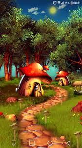 Mushroom Forest 3D Live Wallpaper for ...