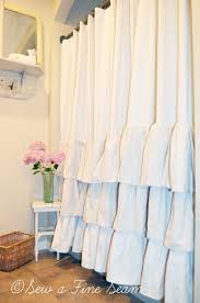 shower marvelous extra long curtain target amazing linen ruffle u design pict for white concept and